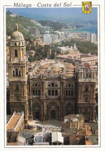 Spain Malaga Costa Del Sol The Cathedral