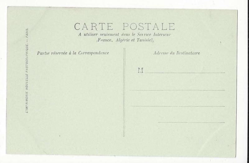 France Chateau Chantilly Mausolee de Henri II Lucien Levy Vintge Postcard