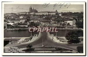 Old Postcard Praha Hradcany