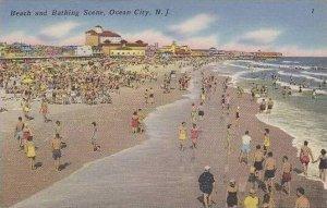 New Jersey Ocean City Beach And Bathing Scene
