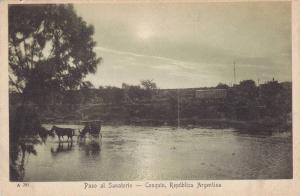 Horse Cart, Paso Al Sanatorio, Cosquin, Republica Argentina, 1910-1920s