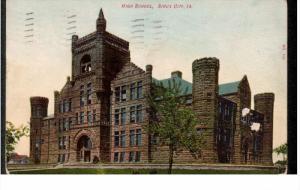 SIOUX CITY, Iowa; High School, PU-1907