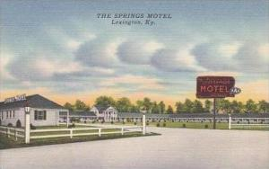 Kentucky Lexington The Spring Motel