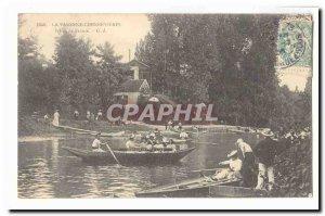 La Varenne Chennevieres Old Postcard L & # 39Ecu of France