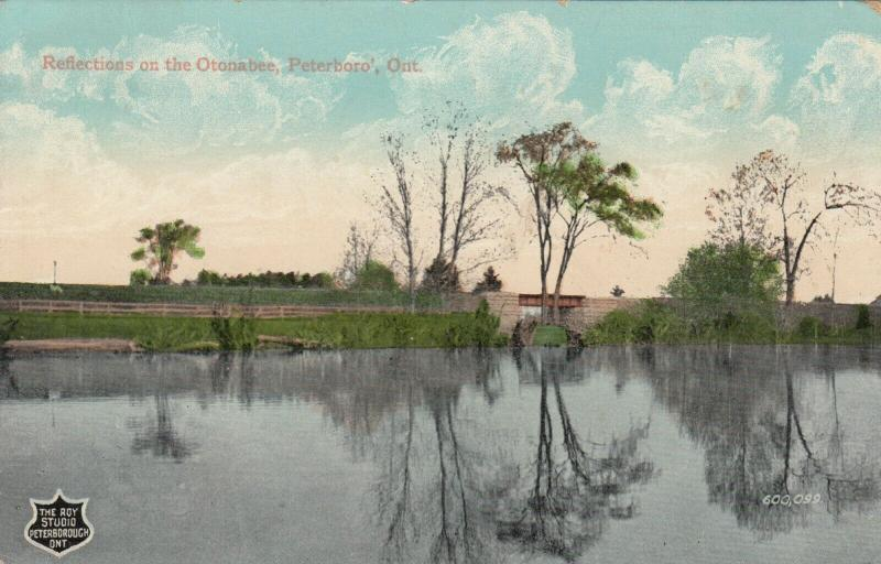 PETERBORO , Ontario , 1910 ; Reflections on the Otonabee