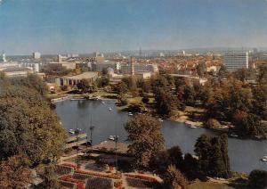 Karlsruhe Stadtgarten Boats Bateaux General view