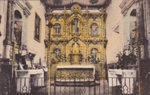 California San Juan Capistrano Mission Altar Serra Church Old Mission Handcol...