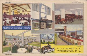 WASHINGTON DC , 30-40s , Interiors/exterior ,O'Donnell's Sea Grill