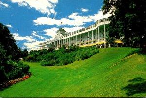 Michigan Mackinac Island The Grand Hotel Front Facade