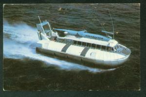 Westland Hovercraft Hoverlloyd Limited Hoverboat Postcard