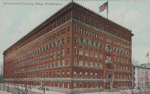 Washington Dc Government Printing Office