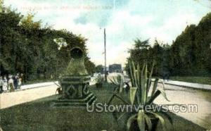 Belle Isle Bridge Detroit MI 1908
