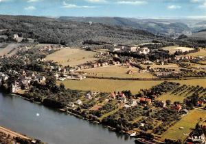 Belgium Godinne Vue prise des 7 Meuses River Aerial view