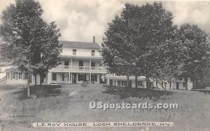 Le Roy House Loch Sheldrake NY Unused