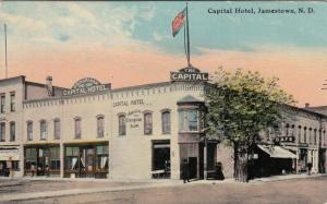 JAMESTOWN , North Dakota , 1900-10s ; Capital Hotel