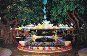 Florida Fort Lauderdale Terrace Patio Restaurant 1956