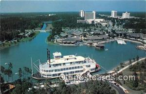 Walt Disney World Village, Empress Lilly Walt Disney World, FL, USA Postcard ...