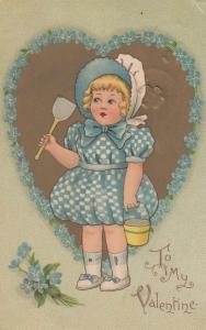 VALENTINE'S DAY: TUCK DELIGHT Series No.126 , 1909