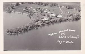 Iowa Lake Okoboji Walther League Camp Real Photo