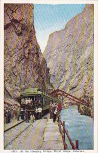 Colorado Royal Gorge At The Hanging Bridge Royal Gorge