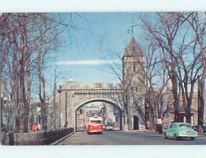 Pre-1980 TOWN VIEW SCENE Quebec City QC p9519