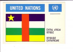 Central African Republic, Flag, United Nations