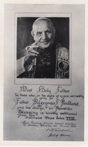 RP: Pope , Most Holy Father , 1930-40s