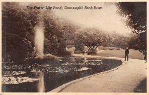 Dover, Connaught Park, The Water Lily Pond, Real Bromide Photograph
