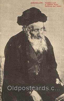 Rabbin Juif, Judaic Postcard Postcards  Rabbin Juif