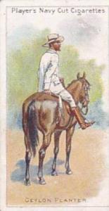 Player Vintage Cigarette Card Riders Of The World 1905 No 3 Ceylon Planter