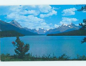 Unused Pre-1980 LAKE SCENE Jasper National Park Alberta AB F3173