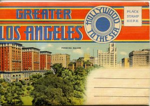 Folder - California. Greater Los Angeles- Hollywood to the Sea      18 views ...