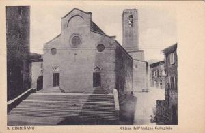Chiesa Dell' Insigne Collegiata, S. Gimignano (Siena), Tuscany, Italy, 00-10s