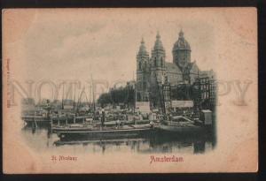 102334 HOLLAND Amsterdam St.Nicolaas Vintage PC