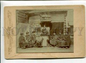3158969 TIBET Lama Rimbuchi-Gigen Monastery Vintage photo
