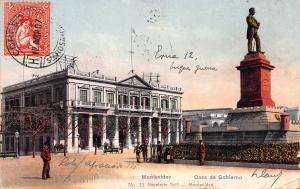 Casa De Gobierno, Montevideo, Uruguay, Early Postcard, Used in 1907