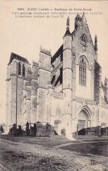 Basilique De Notre-Dame, Clery (Loiret), France,1900-1910s