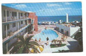 Silver Seas on the Ocean, Fort Lauderdale, Florida,   PU- 1954
