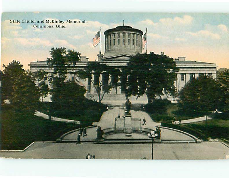 Postcard Mckinley Memorial Columbus Ohio # 403A