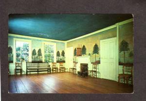MA Masonic Masons Freemasonry Old Sturbridge Village Massachusetts Postcard