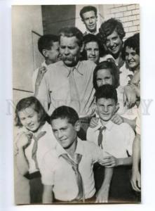 153004 GORKY & Lev KASSIL Soviet Jewish WRITER old PHOTO