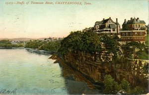 TN - Chattanooga. Bluffs of Tennessee River