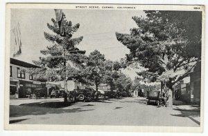 Carmel, California, Street Scene