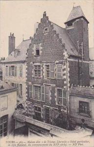 France Tours Maison dite de Tristan Lbermite