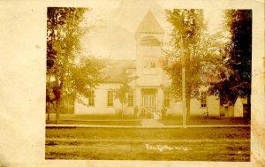 WI - Eau Galle. School House.   *RPPC