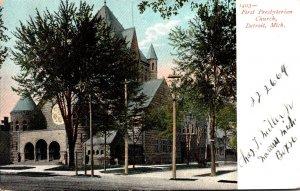 Michigan Detroit First Presbyterian Church 1907