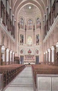 Louisiana New Orleans Church Of The Immaculate Concepcion Interior