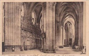 France Chartres Cathedrale Interieur 1928