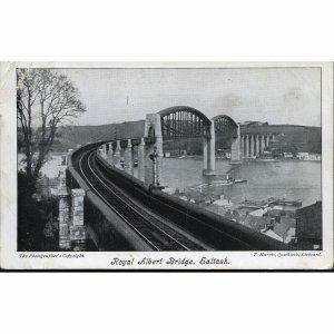 Postcard 'Royal Albert Bridge, Saltash'