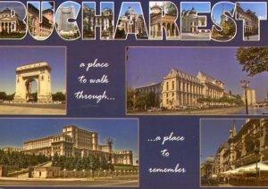 ROMANIA: CITY OF BUCHAREST WITH SPLIT-VIEWS